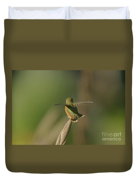 Take Off  Duvet Cover by Jeff Swan