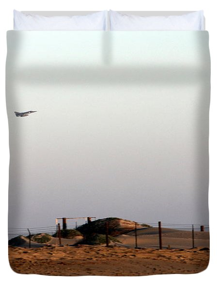 Takeoff Duvet Cover