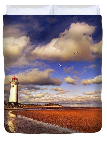 Talacre Lighthouse Duvet Cover