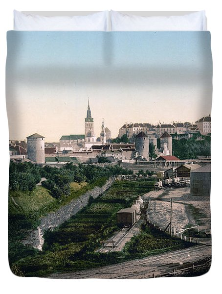 Tallinn Estonia - Formerly Reval Russia Ca 1900 Duvet Cover by International  Images