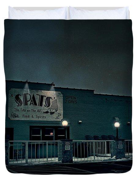 Tav On The Ave Duvet Cover by Joel Witmeyer