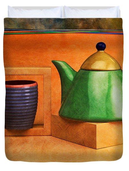 Tea  Duvet Cover by Mauro Celotti