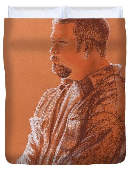 Teacher's Son Duvet Cover by Kume Bryant