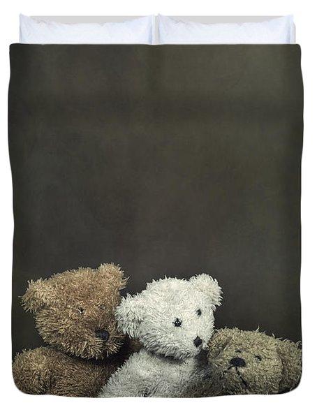 Teddy Bear Family Duvet Cover by Joana Kruse