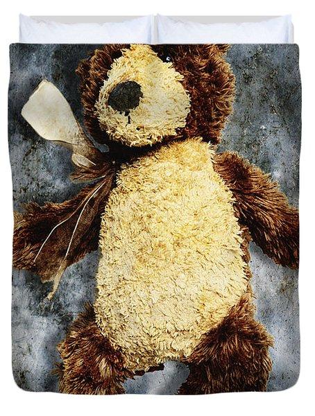 Teddy Bear Duvet Cover by Skip Nall