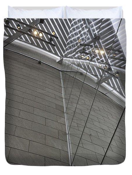 Telfair Glass And Louver Details Duvet Cover by Lynn Palmer