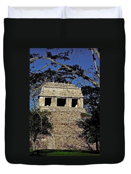 Temple Of The Count ... Duvet Cover by Juergen Weiss