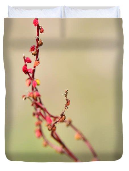 Tenderness In Japanese Style Duvet Cover