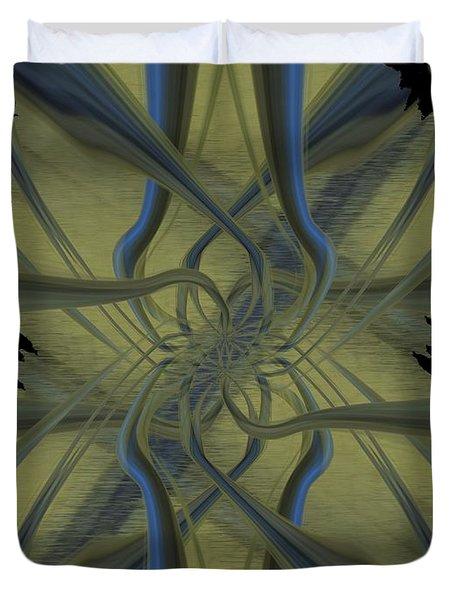 Tendrils Duvet Cover by Tim Allen