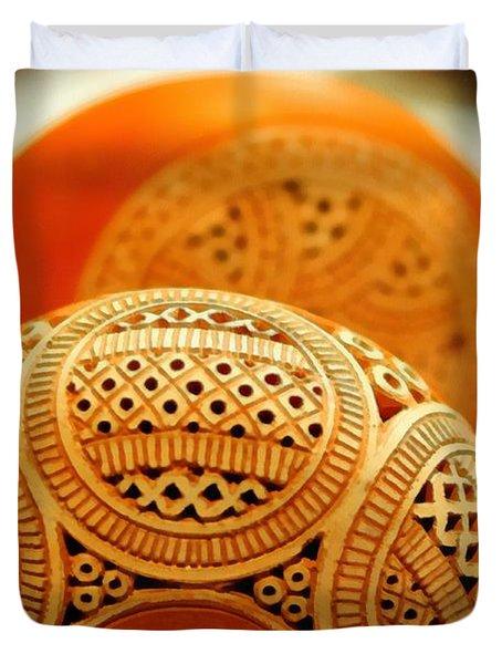 Terracotta Lampshade Duvet Cover