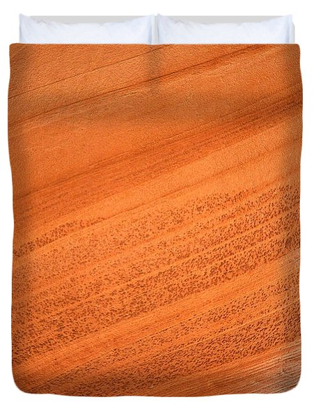 Texture And Light - Antelope Canyon Duvet Cover by Christine Till