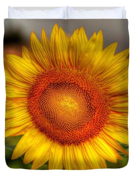 Thai Sunflower Duvet Cover by Adrian Evans