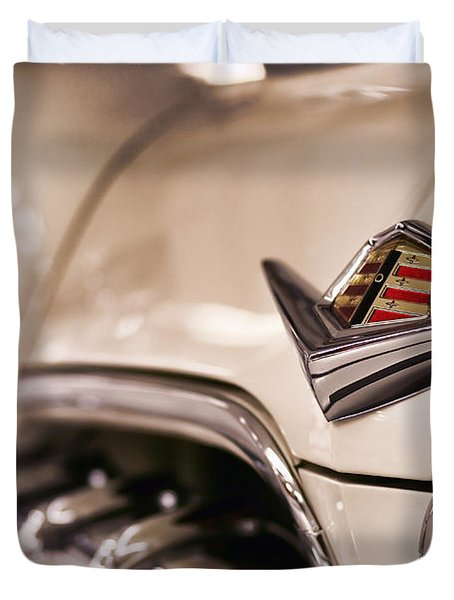 Duvet Cover featuring the photograph The 1955 Dodge La Femme by Gordon Dean II