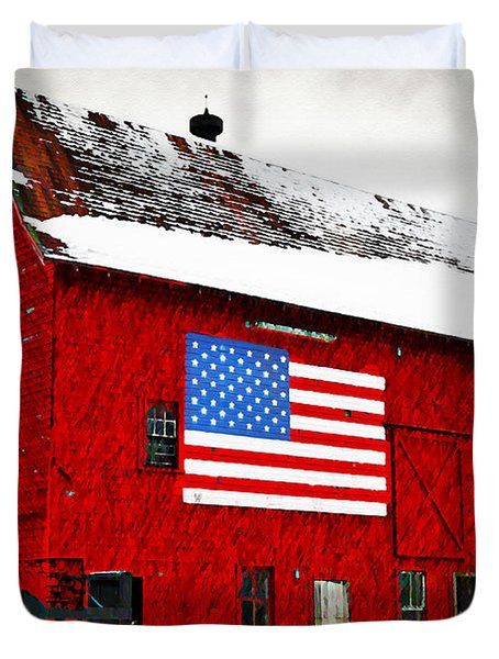 The American Dream Duvet Cover by Bill Cannon