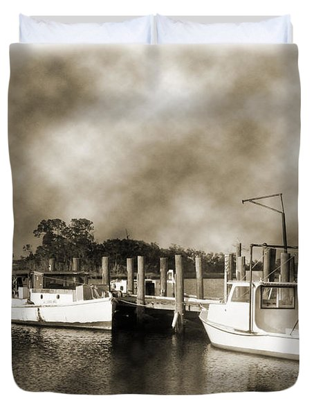 The Bayou Duvet Cover by Barry Jones