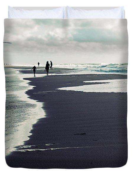 The Beach Duvet Cover by Joana Kruse