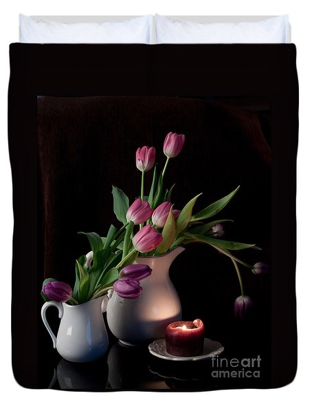 The Beauty Of Tulips Duvet Cover