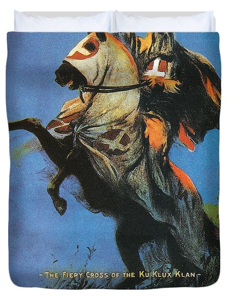 The Birth Of A Nation Duvet Cover by Georgia Fowler