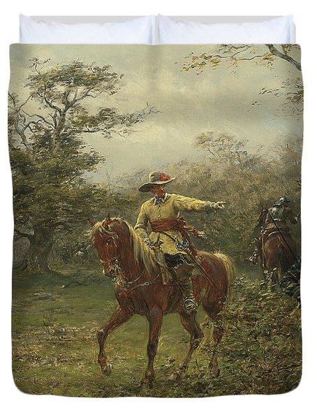 The Boscobel Oak Duvet Cover