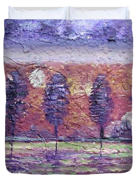 The Boulevard Duvet Cover