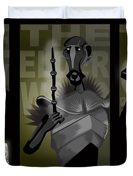 The Brothers Duvet Cover by Lisa Leeman