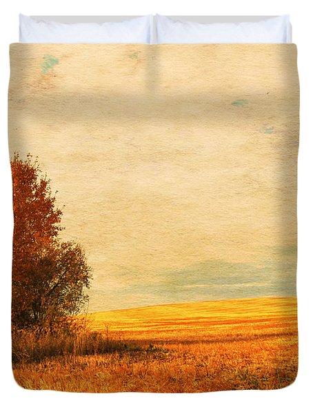 The Careful Breeze  Duvet Cover by Jerry Cordeiro