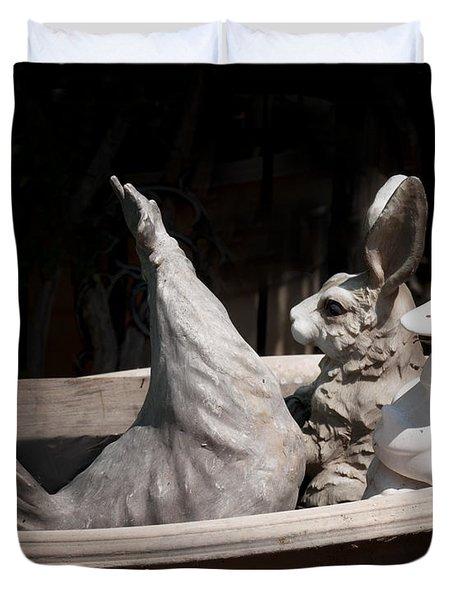The Castways Duvet Cover by Diane Wood