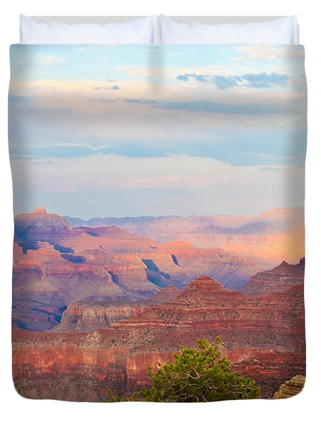 The Colors Of The Canyon Duvet Cover by Heidi Smith