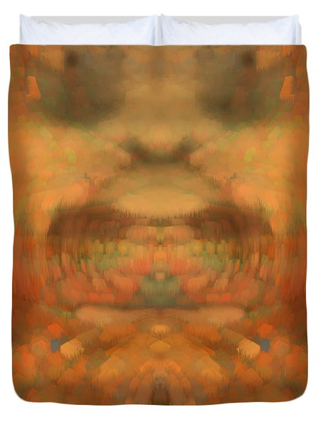 The Coronation Duvet Cover by Christopher Gaston