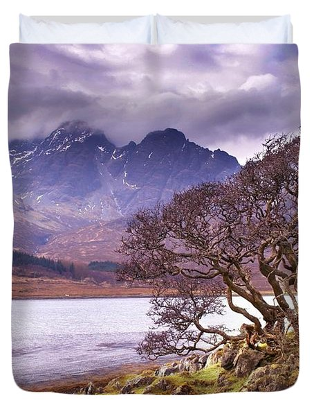 The Cuillins Skye Duvet Cover