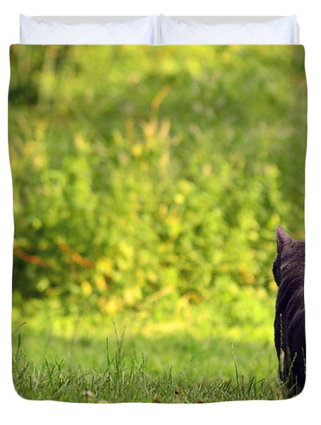 The Deer Hunter Duvet Cover