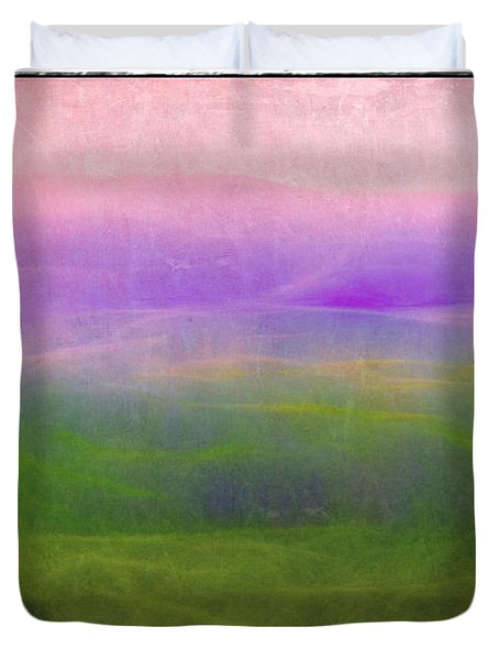The Distant Hills Duvet Cover by Judi Bagwell