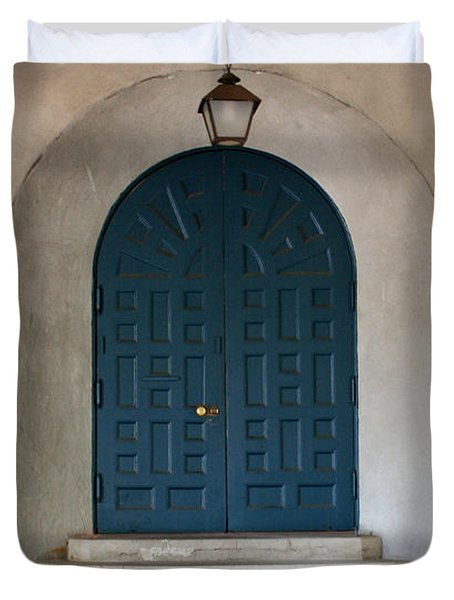 The Door Duvet Cover