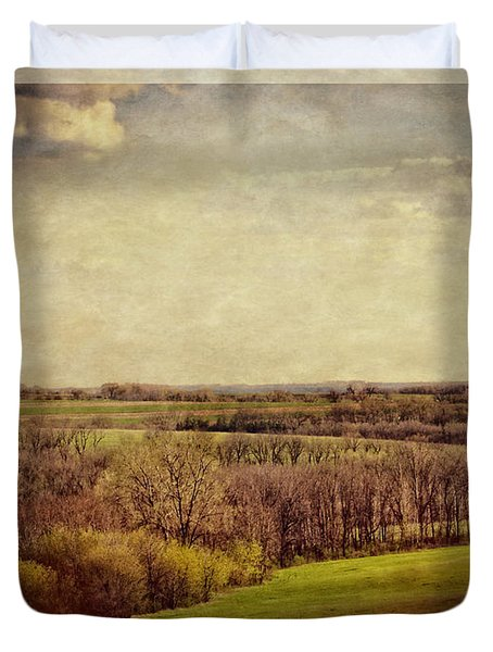 The Driftless Zone Duvet Cover by Mary Machare