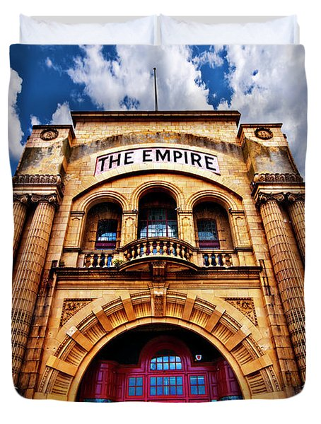 The Empire Theatre Duvet Cover