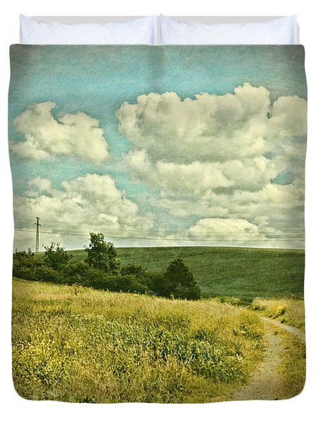 The Farm Road Duvet Cover