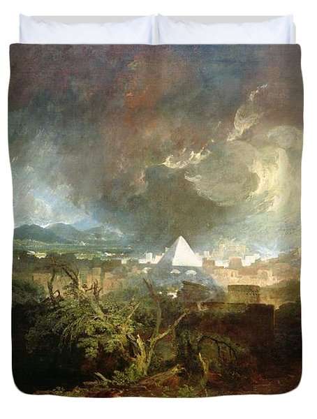 The Fifth Plague Of Egypt Duvet Cover