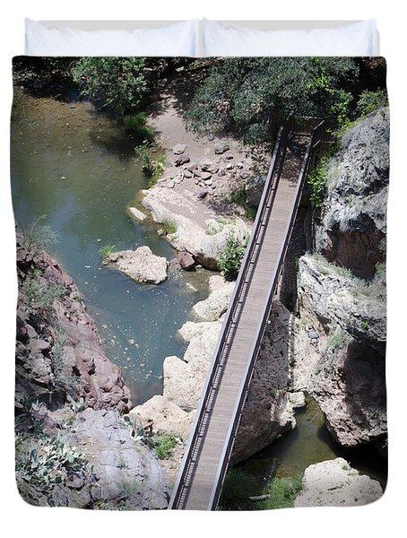 The Foot Bridge Duvet Cover