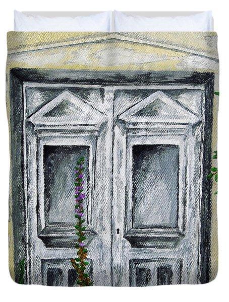 The Forgotten Door Duvet Cover