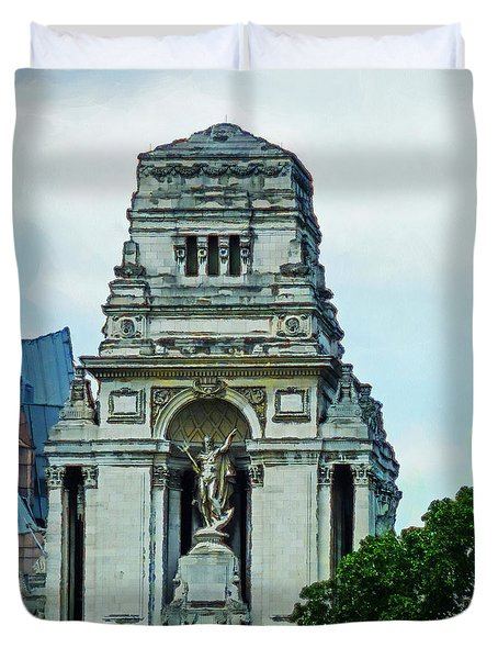 The Former Port Of London Authority Building Duvet Cover by Steve Taylor