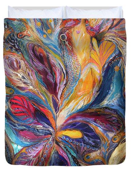 The Galilee Iris Duvet Cover