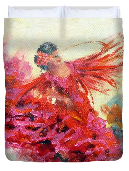 The Gypsy Duvet Cover by Marie Green