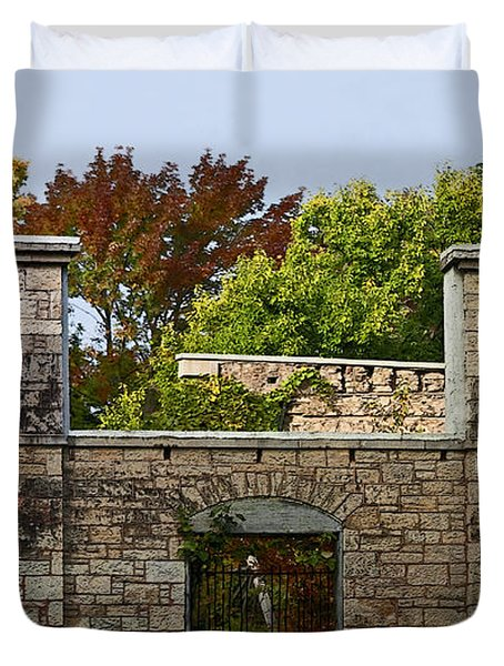 The Hermitage Duvet Cover by Barbara McMahon