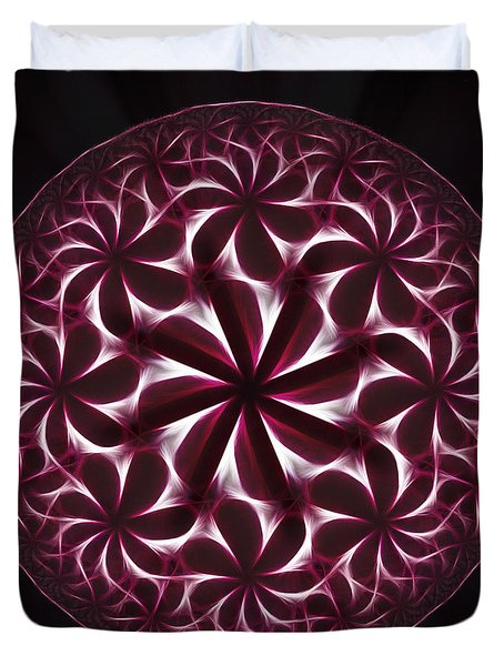 The Hot Ice Duvet Cover by Danuta Bennett