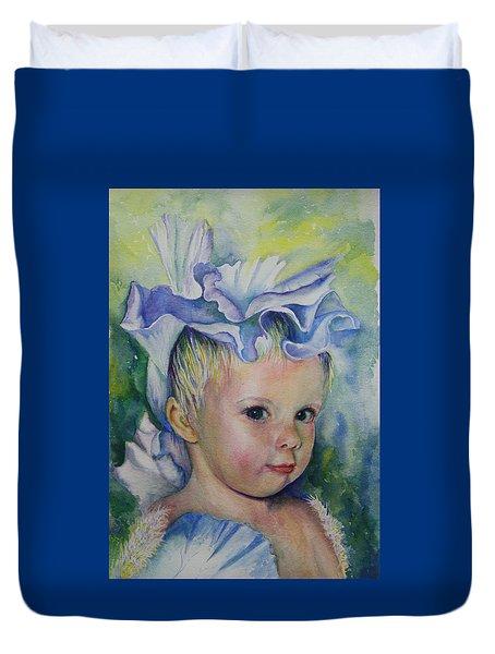 The Iris Princess Duvet Cover