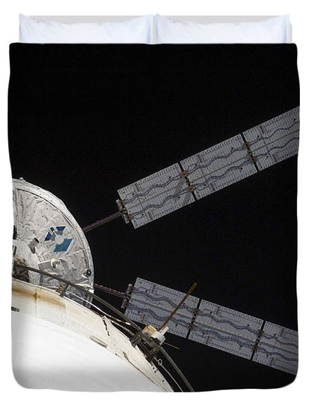 The Johannes Kepler Automated Transfer Duvet Cover by Stocktrek Images