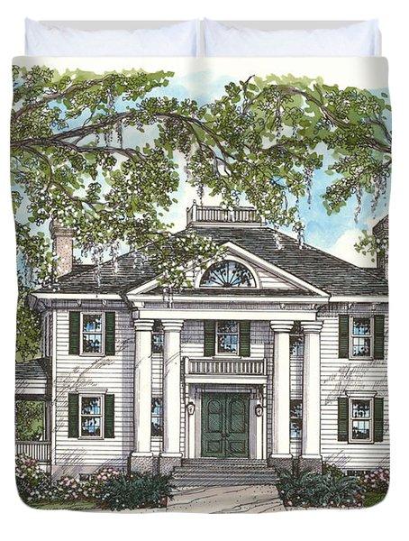 The Knott House Circa 1843 Duvet Cover