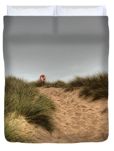 The Lifebelt 2 Duvet Cover by Steve Purnell