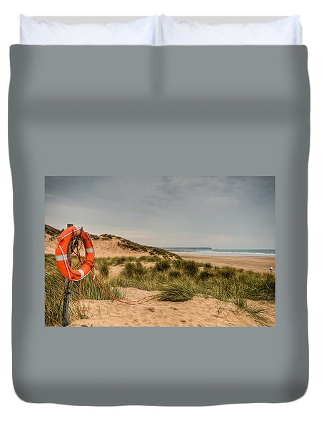 The Lifebelt Duvet Cover by Steve Purnell
