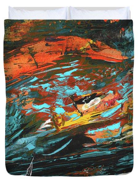 The Loch Ness Monster Duvet Cover